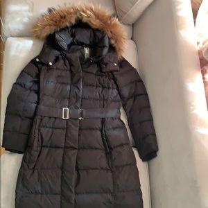 Add winter down jacket